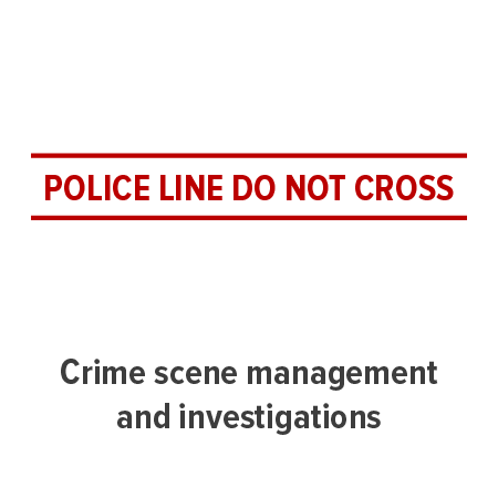 tile graphic representing a police line, do not cross